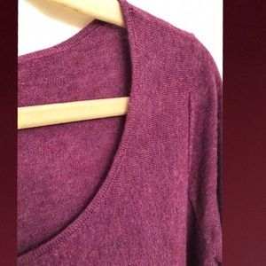 Eileen Fisher Merino Wool Ballet Neck Sweater